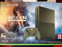 Xbox One S Battlefield 1 Special Edition 1TB Console Perfect Condition