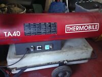 Space heater thermobile TA 40 diesel /parrafin/kerosene great working order ,