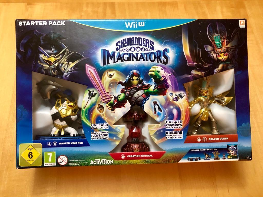 Wii U Skylanders Imaginators Starter Pack with extra figures!