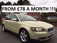 2004 VOLVO V50 SE 2.0 DIESEL ** FULL VOLVO SERVICE HISTORY ** ALL MAJOR CARDS ACCEPTED