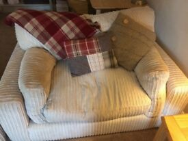 Barker and Stonehouse sofa and snuggle chairs