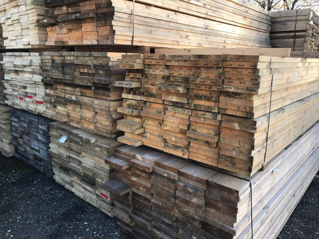 Timber/Wooden Scaffold Style Boards ~ 3.9M