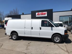 2017 Chevrolet Express 2500 ext. fin or lease from 4.99%oac