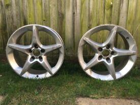 Vauxhall 18'' penta alloys