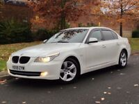2009 BMW 5 Series 525d SE Business Edition Manual Diesel 4dr Saloon not 530d 535d Auto Automatic