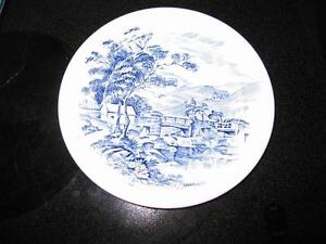 Countryside Wedgewood china plate