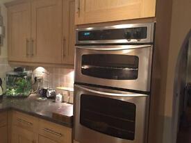 Oak effect shaker style kitchen