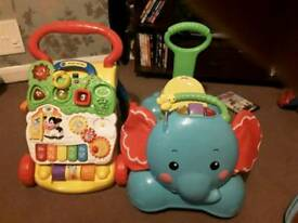Baby walker and ride £15
