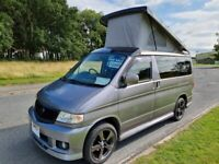 Mazda Bongo Campervan 4 berth 6 seat with brand new kitchen & pop up roof superb!