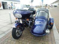 Harley-Davidson TOURING ROAD GLIDE sidecar