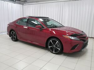 2018 Toyota Camry NEW INVENTORY! XSE SEDAN COMES WITH SAFETY TEC