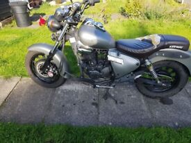 Reliable, well maintained and good condition motorbike for sell. Offers around £900. Collection only