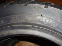 scooter tyres in exellent condition.