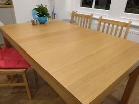 Extendable dining table (IKEA) - £100 OVNO