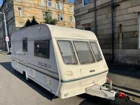 Cheap caravan