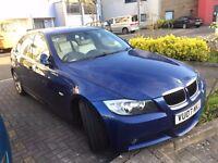BMW 320i M Sport, 12 months mot, SAT Nav, Leather Interior, I-Drive, 83k
