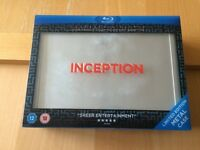 Limited Edition Inception Box Set with Collectibles - BOXED - Triple Play