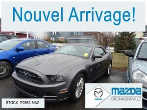 2013 Ford Mustang V6 Premium *PONY PACK*+DECAPOTABLE+CUIR+