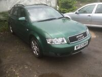 Audi A4 estate 1.9 tdi. Loads of service history. Car will come 12 months Mot