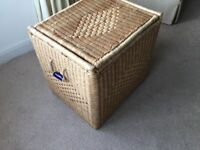 Large Oblong Wicker storage Basket