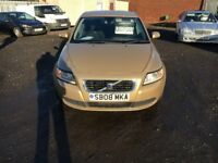 Gold volvo S40 Saloon