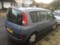 Renault espace 2.0 T 7 SEATER years mot excellent runner