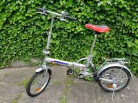 Folding Bike.. ready to ride.. like new condition