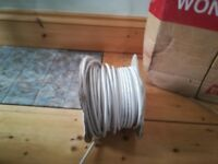 Roll of coaxial cable