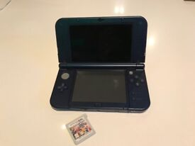 Nintendo 3ds XL loaded with Super Smash Bros game