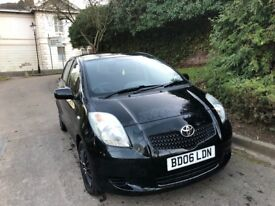 TOYOTA YARIS AUTOMATIC, 06 REG, 79K MILES, HPI CLEAR, 5 DOOR, MOT, DRIVES MINT,