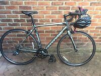 Women's Cannondale Synapse Road Bike: Dark Grey Size 54
