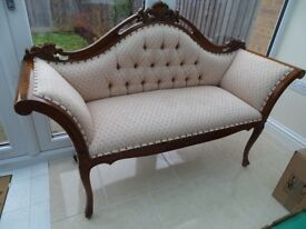Antique style small sofa