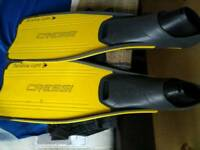 Cressing flippers