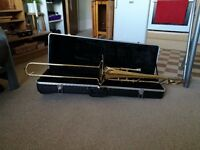 Student Tenor Trombone in Bb by Gear4music. Hardly Used.