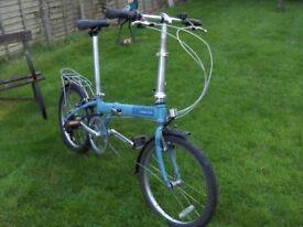 bicycle bike Dahon speed 07