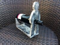 Wine bottle holder - quirky