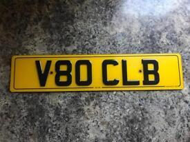V80 CLB cherished plate