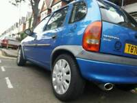 Blue VAUXHALL CORSA 1.2 16v AUTO FOR QUICK SALE - PRICE NEGOTIABLE