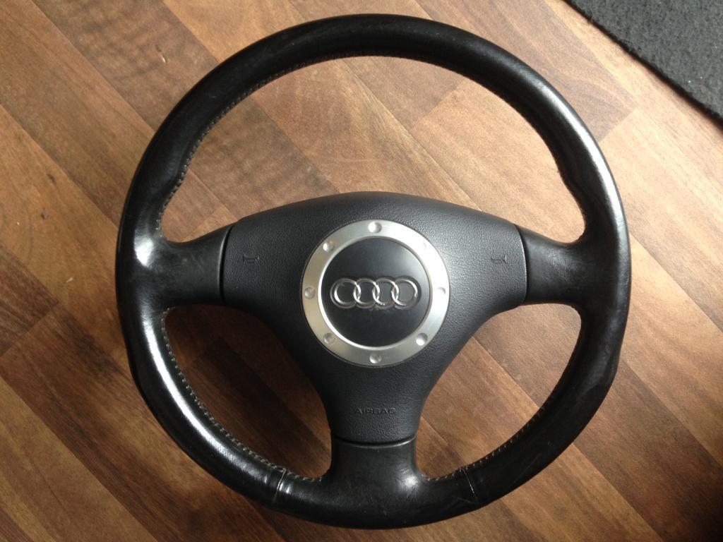 Audi TT MK1 Leather Steering Wheel Genuine OEM