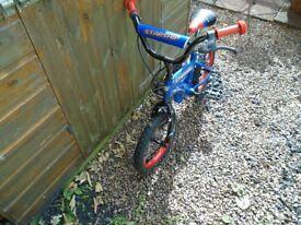 *FREE* Blue Childrens Bike