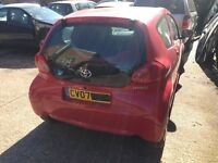 2007 Toyota Aygo 1.0 vvti engine and parts for sale