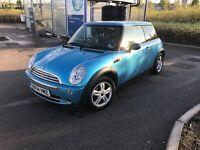 2004 (54) Mini One, electric blue