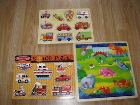 5 Puzzles, 1 of them make sounds