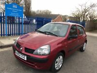 Renault Clio 1.2 automatic Long mot low mileage