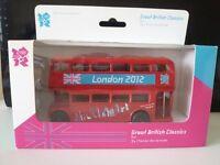 Corgi London Bus 2012 - Great British Classics - Olympics - Ty82319