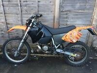 Ktm exc 200 road legal motor cross QUICK SALE !