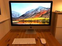 """Immaculate iMac 27"""" - 5K - 3.2GHz - 8GB - 1TB"""