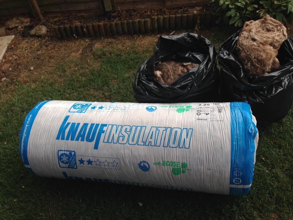knauf loft insulation in oakham rutland gumtree. Black Bedroom Furniture Sets. Home Design Ideas