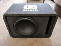 "12"" Subwoofer - 1800 Watts - Vented Enclosure - Active Amp"