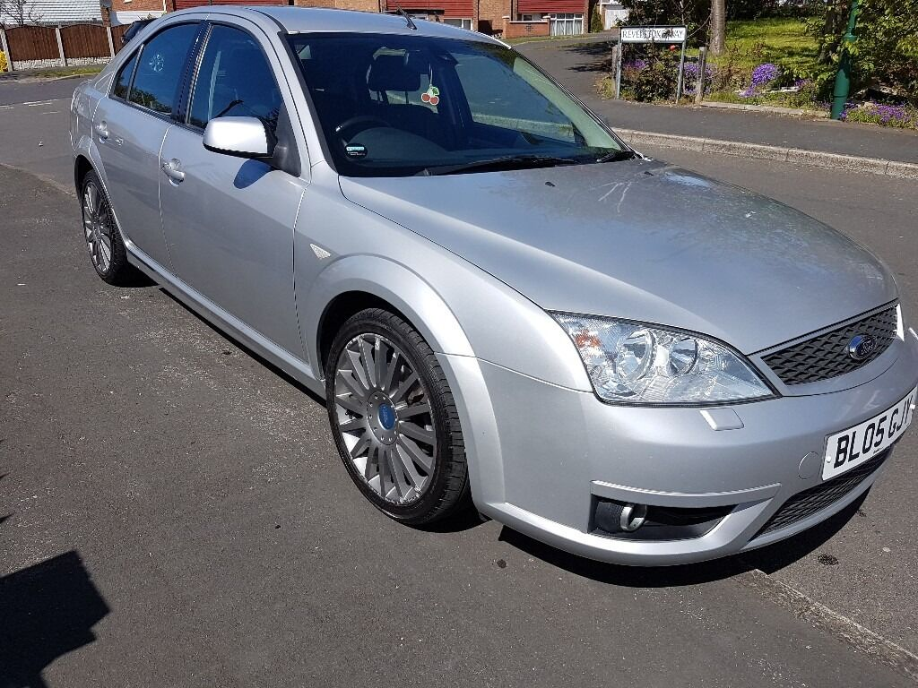 2005 FORD MONDEO 2.2 ST TDCI. SILVER. MANUAL. 105K